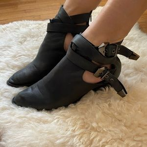 Jeffery Campbell cut out boots